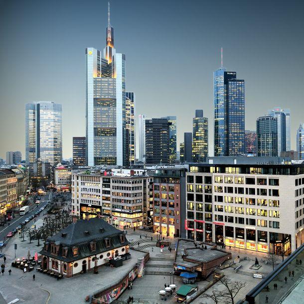 frankfurt spoj novog i starog