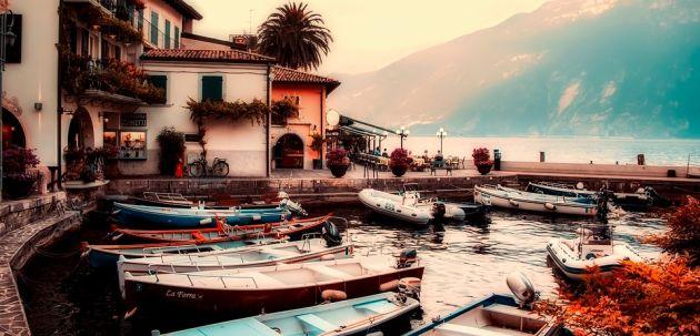 italija jezero lake Garda