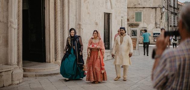 Indijsko vjenčanje u predivnoj Korčuli