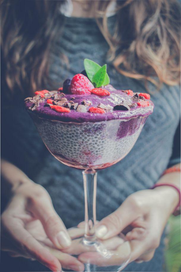 voćni kup hrana voće sladoled