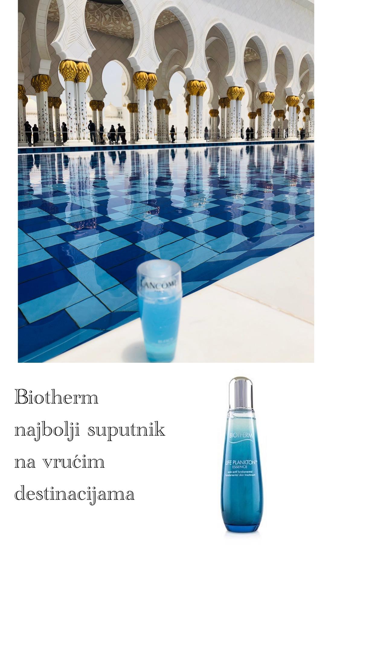 biotherm čistač šminke