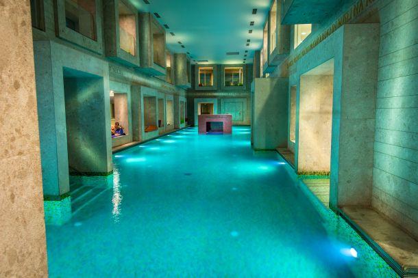 unutarnji bazen rimske terme