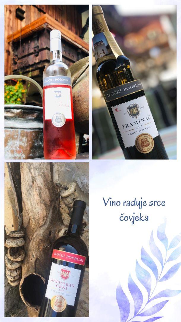 vina za ljeto