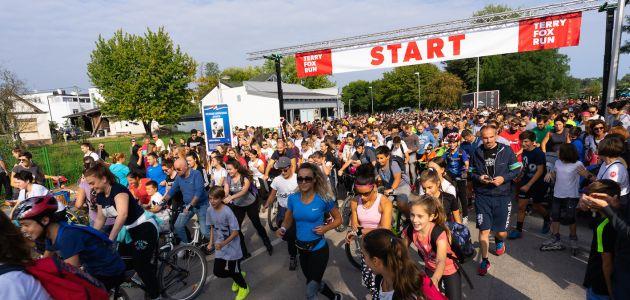 Terry Fox Run najavljuje dvadeseto izdanje humanitarne trke