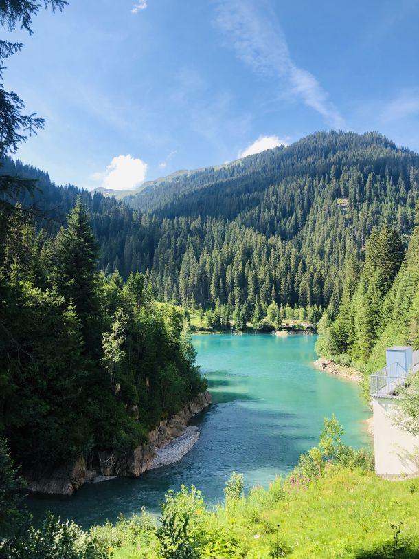 st anton austrija jezero