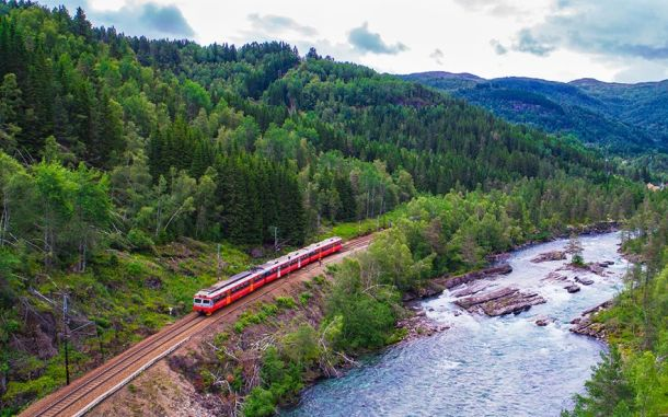 Railway-in-Norway-1