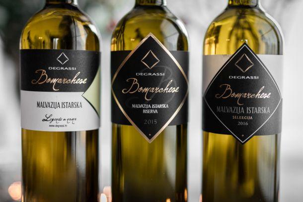 Degrassi vina malvazija