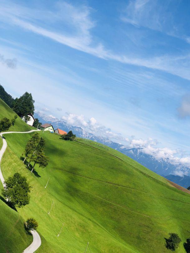 alpe slovenija kmetija