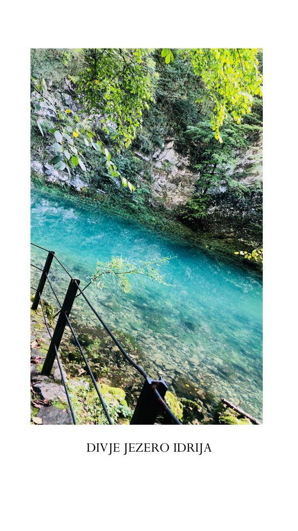 jezero idrija slovenija