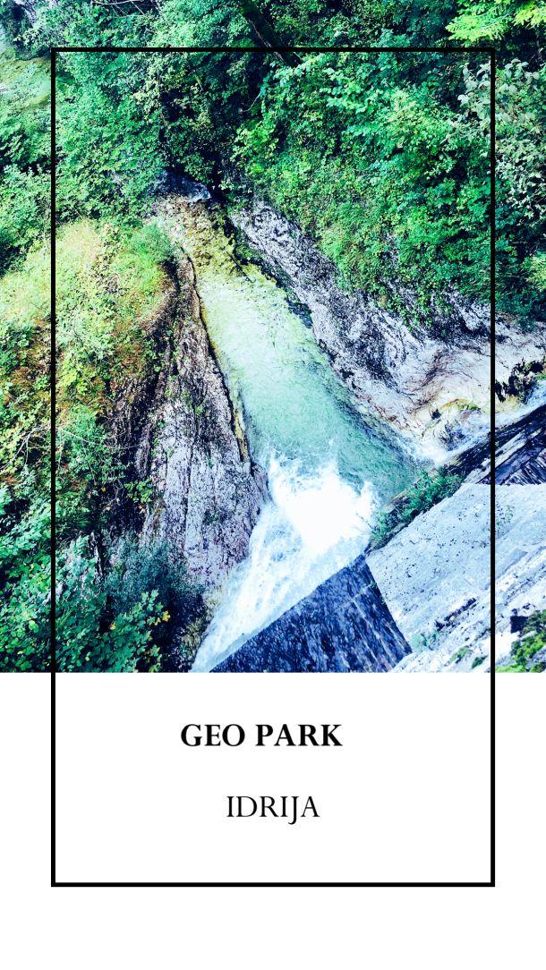 slovenija geopark idrija