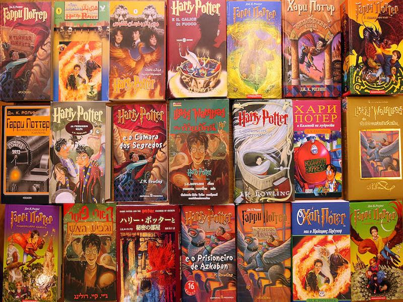 Harry Potter knjige