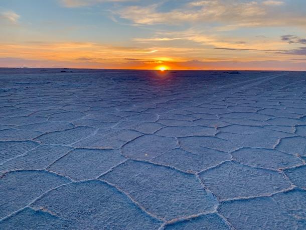 bolivija slano jezero