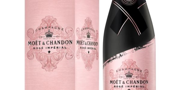 Valentinovo uz Moët & Chandon Rosé: Limited edition boca