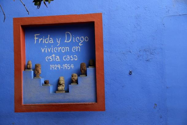 Frida Kahlo Museum - Mexico City