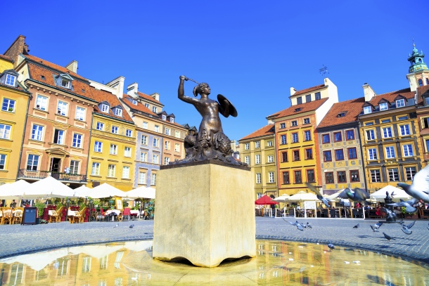 Old Town Market Square - Warsaw, Poland