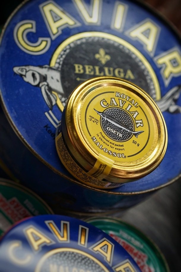 caviar kavijar beluga