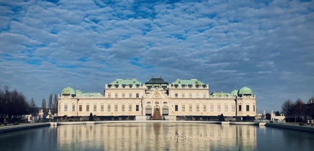 online dvorac Belvedere bec austrija