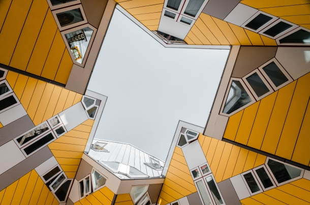 Cube houses Rotterdam nizozemska