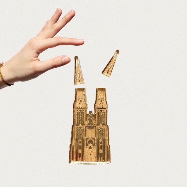 katedrala motiv narukvica