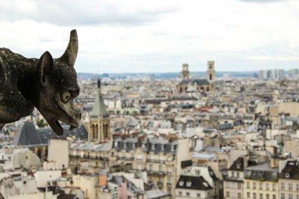 notre dame katedrala pariz vodorige