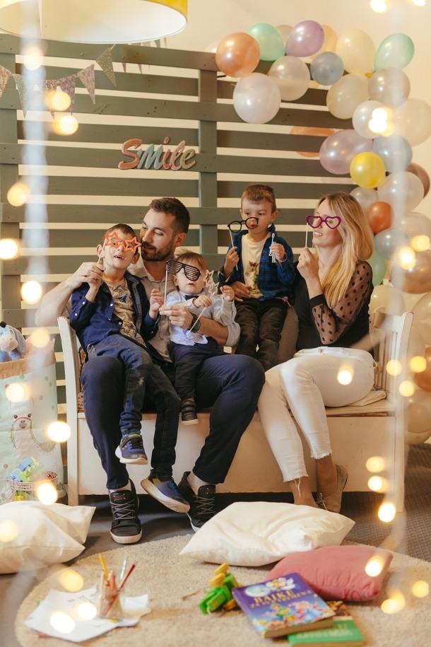 obitelj zabava