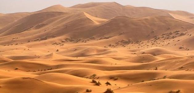 pustinja raspjevani pijesak