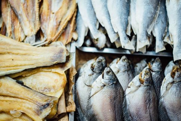 riba bakalar hrana