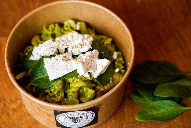 Zeleni pajcek tjestenina piacere