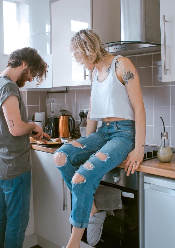 kuhanje kuhinja anksioznost