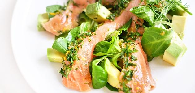 Lagana salata od lososa i limuna idealna za trenutke kada vam se žuri