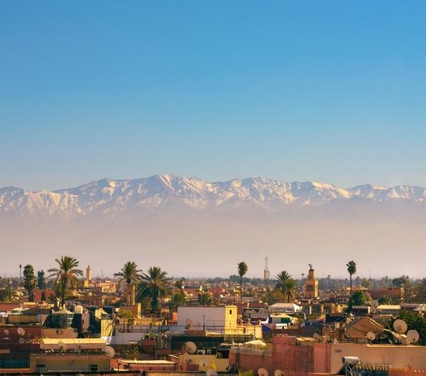 Atlas planine Marrakech Maroko