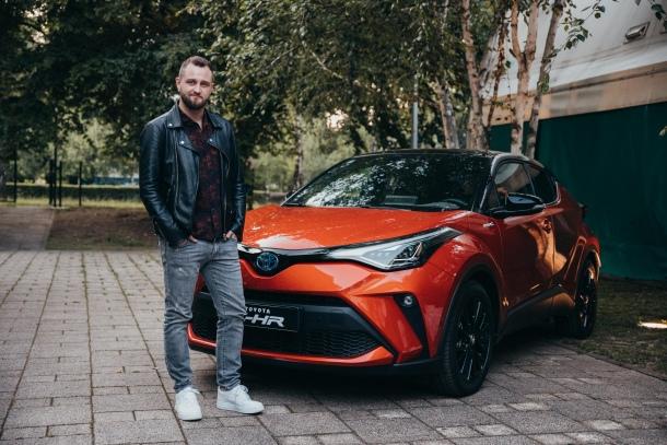 Matija Cvek uz novu Toyotu C-HR hybrid