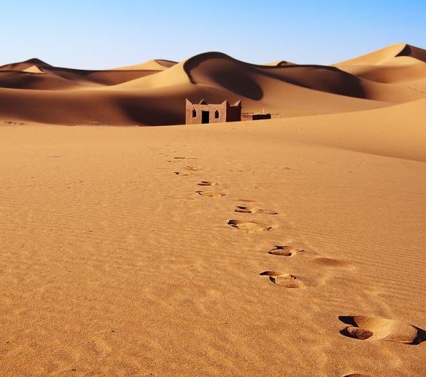 Sahara pustinja maroko