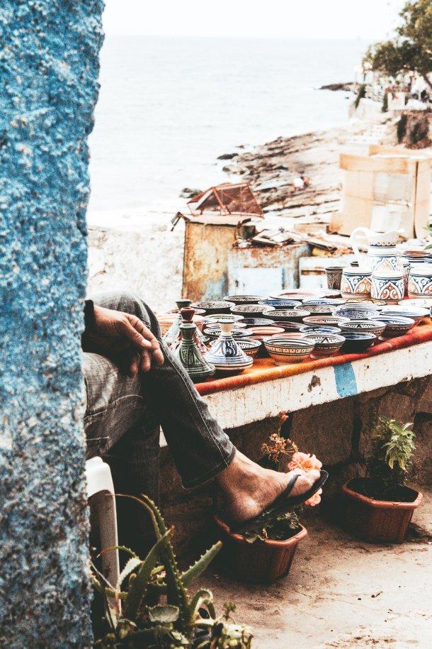 Tagine maroko bazar