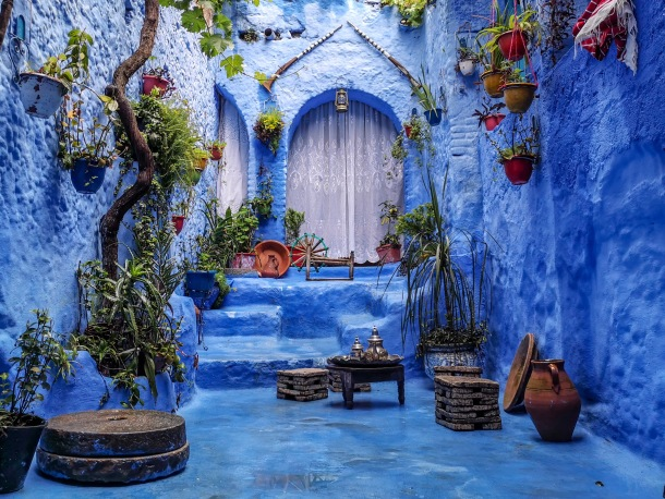 chefachaouen grad maroko