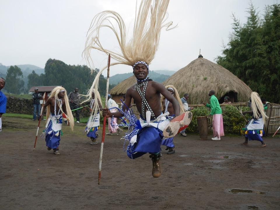 selo Ruanda plemenski ples