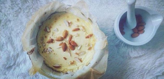 Kolač bez brašna i šećera: Almond Cheese Cake