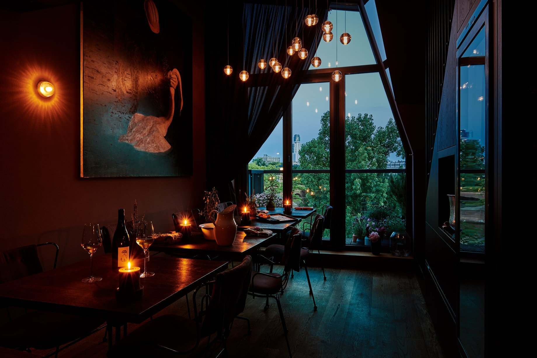 Seven-Swans restoran frankfurt