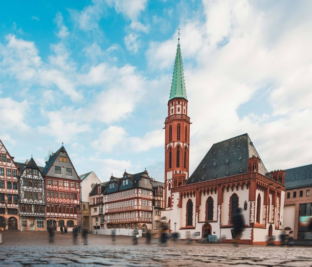 centar frankfurta crkva