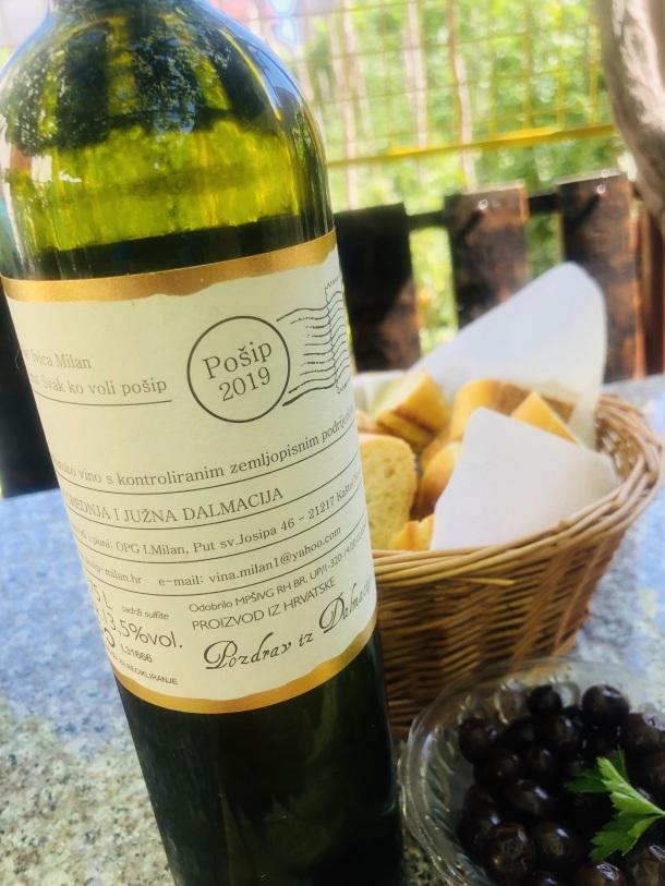 milan pošip vrhunsko vino