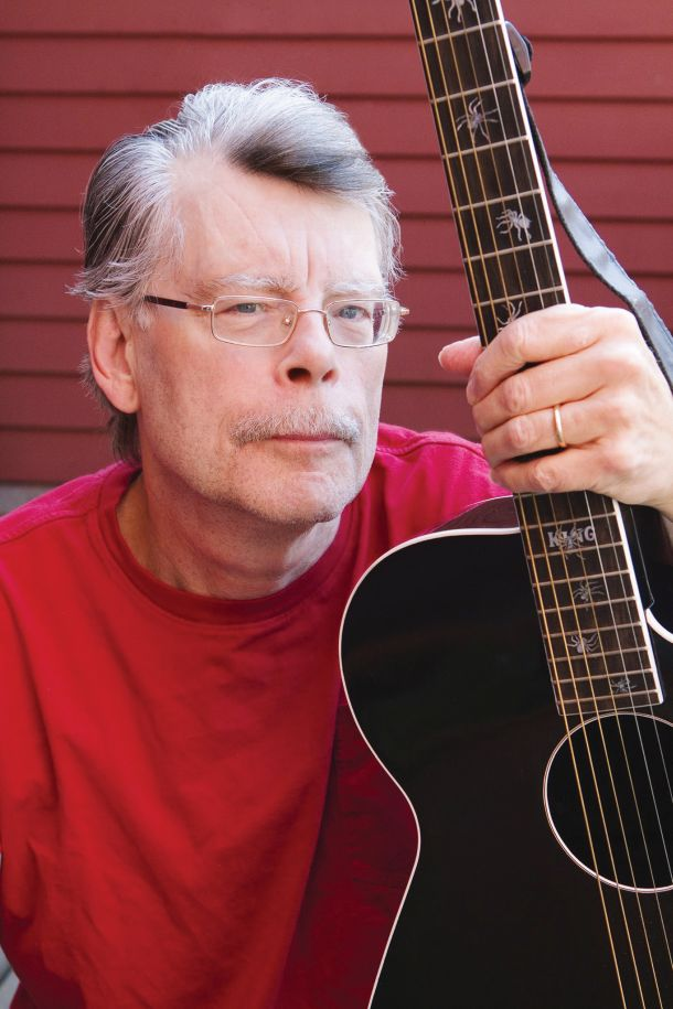 Stephen King_photo_St Francis College