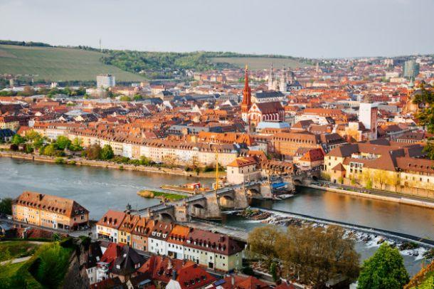 Würzburg barokni njemacki grad povijesti i vina