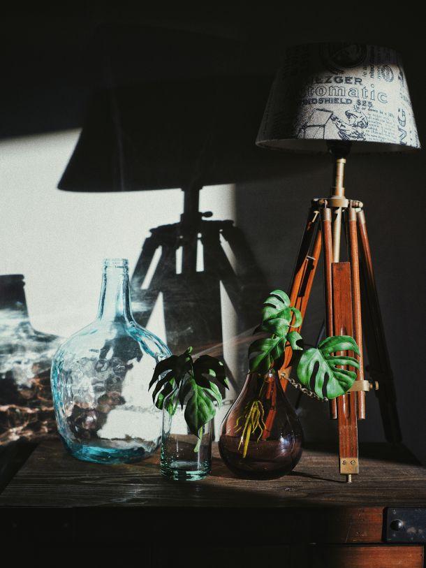 lampa vaze uredenje doma