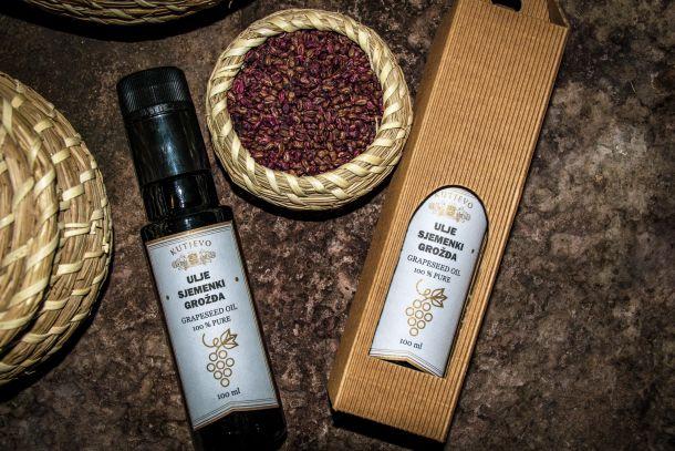 Ulje sjemenki grožđa vinarije KUTJEVO d.d. (2)