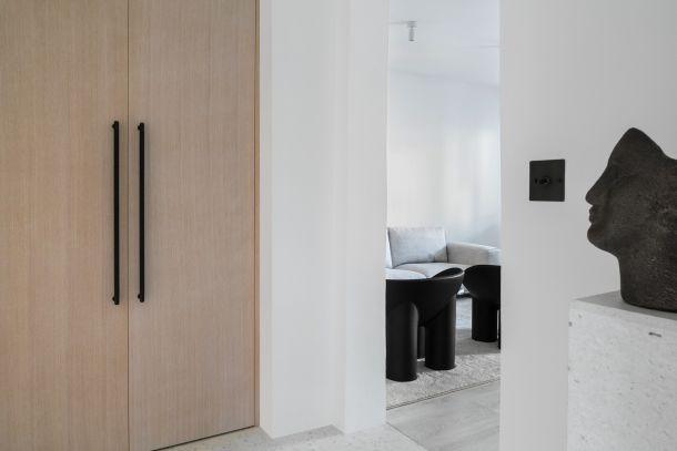 ormar hodnik interijer dizajner cagalj Kuca u Vinogradskoj