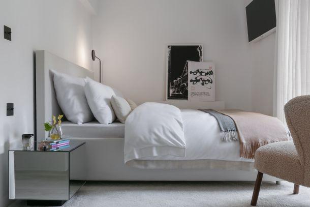 spavaca soba krevet Kuca u Vinogradskoj