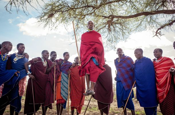 tanzania tanzanija pleme masai