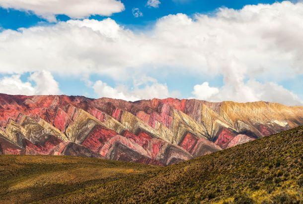 Hornocal sarene planine Jujuy Argentina