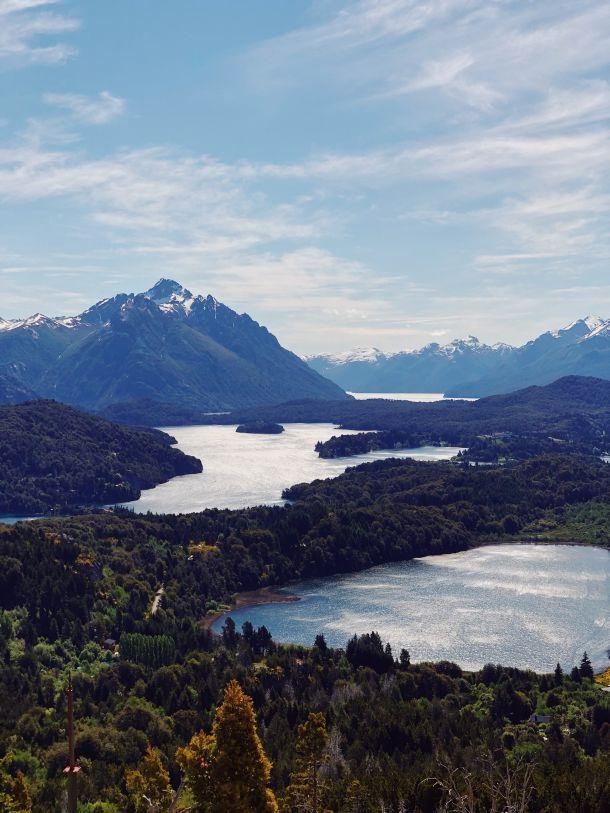 patagonija jetzero Lago Nahuel Huapi