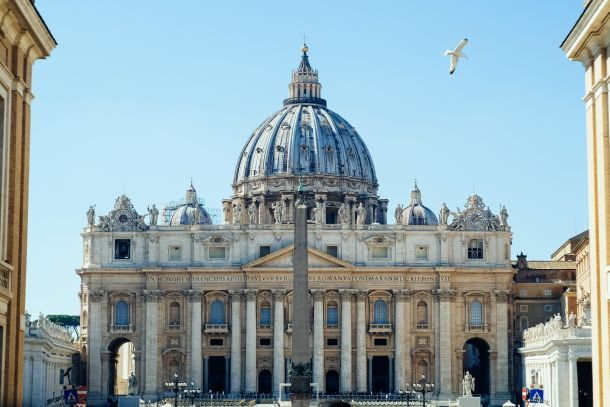 kupola bazilika svetog petra vatikan